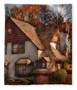 Cottage - Westfield Nj - Family Cottage Fleece Blanket