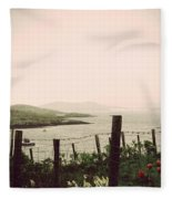 Cottage By The Sea Barra Fleece Blanket