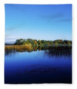 Cottage Island, Lough Gill, Co Sligo Fleece Blanket