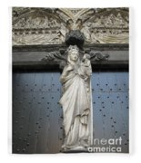 Count Your Blessings- St Mary Of Brugge- 01 Fleece Blanket