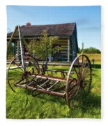 Country Classic Oil Fleece Blanket