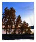 Country Color 16 Fleece Blanket
