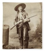 Cowboy, 1880s Fleece Blanket