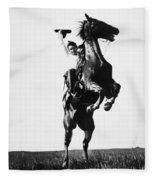 Cowboys, 1909 Fleece Blanket