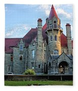 Craigdarroch Castle Fleece Blanket