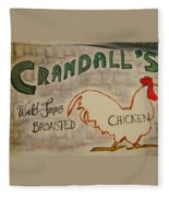 Crandalls Fleece Blanket