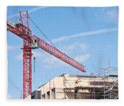 Crane Fleece Blanket