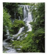 Crawfordsburn Country Park, Co Down Fleece Blanket
