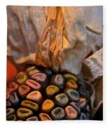 Crazee Corn Colors Fleece Blanket