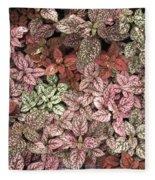 Creative Hues Of Mother Nature Fleece Blanket