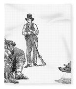 Creek Chiefs & Squatter Fleece Blanket