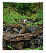 Creek End Fleece Blanket