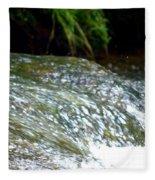 Creek Water Splash Fleece Blanket