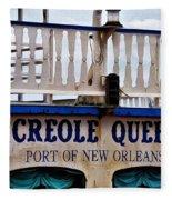 Creole Queen Fleece Blanket