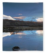 Crianlarich Sunset Fleece Blanket