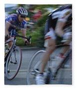Criterium Bicycle Race 4 Fleece Blanket