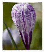 Crocus Blossom Fleece Blanket