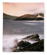 Cromwell Point Lighthouse, Valentia Fleece Blanket