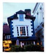 Crooked House Of Windsor Fleece Blanket