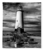 Crooked Lighthouse Fleece Blanket
