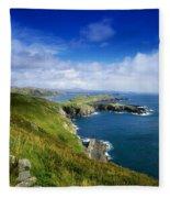 Crookhaven, Co Cork, Ireland Most Fleece Blanket