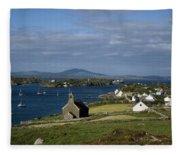 Crookhaven, Co Cork, Ireland Fleece Blanket