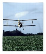 Crop Dusting Fleece Blanket