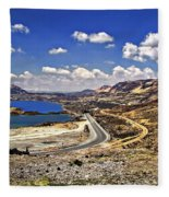 Crossing The Andes 2 Fleece Blanket