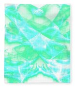 Crossing Waves Fleece Blanket
