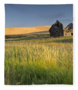 Crushed By Time Fleece Blanket