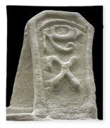 Cryptic Egypt Snow Fleece Blanket