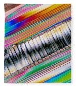 Crystal Aluminate Fleece Blanket