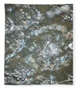 Crystal Clear Bubbles Fleece Blanket