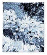 Crystal Flowers Fleece Blanket