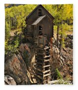 Crystal Mill 6 Fleece Blanket