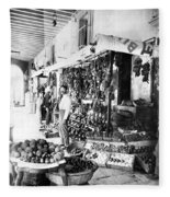 Cuba Fruit Vendor C1910 Fleece Blanket