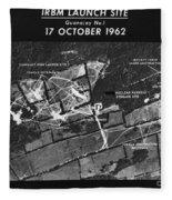 Cuban Missile Crisis, 1962 Fleece Blanket