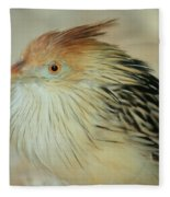 Cuckoo Bird Fleece Blanket