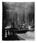 Curie Laboratory Fleece Blanket