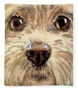 Curiosity Fleece Blanket