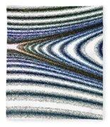 Curve Art Fleece Blanket