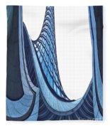 Curves - Archifou 42 Fleece Blanket