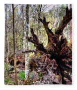 Cypress Roots Fleece Blanket