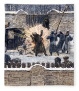 Czars Assassination, 1881 Fleece Blanket
