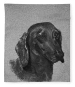 Dachshund Fleece Blanket