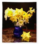 Daffodil Bouquet Fleece Blanket