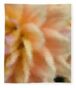 Dahlia Delight 2 Fleece Blanket