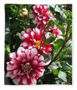 Dahlia Named Yoro Kobi Fleece Blanket
