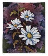 Daisies IIi Fleece Blanket
