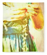 Daisy Chain Fleece Blanket